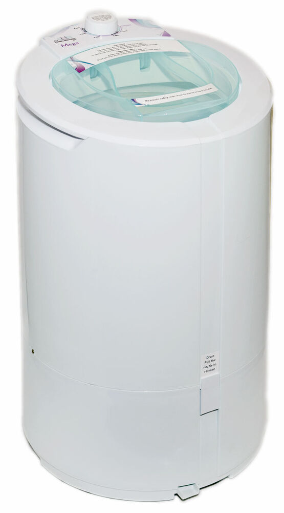 Miniature Clothes Dryer ~ Compact home apartment size mega spin dryer lb load