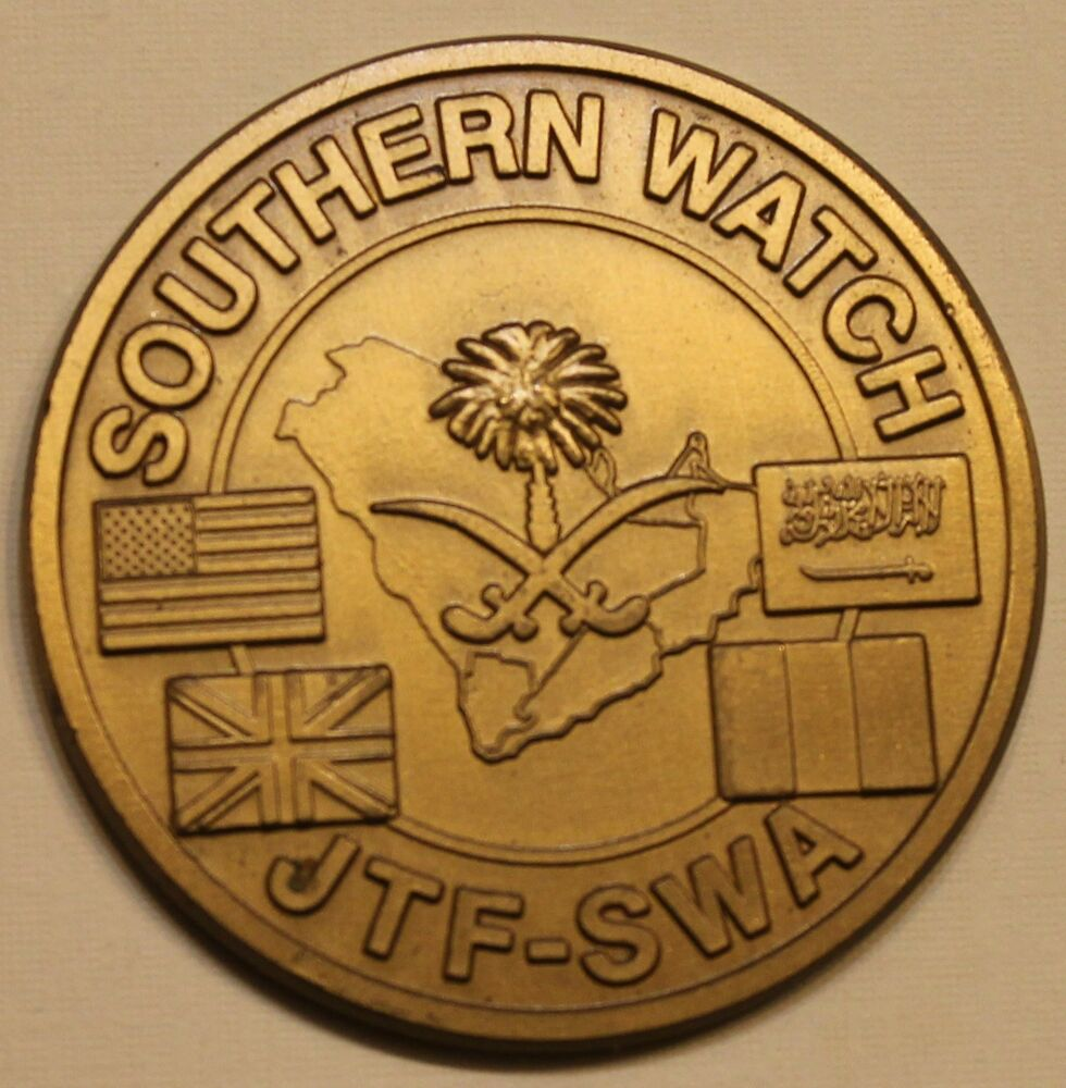 operation southern watch coin