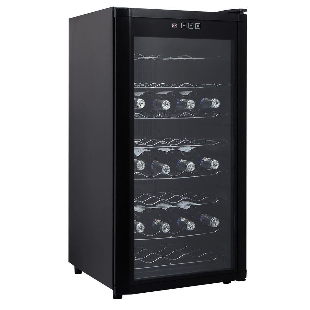 Kitchen cabinets emerson nj - New 32 Bottles Wine Cooler Fridge Cellar Storage Holder Chiller Bar Rack Cabinet