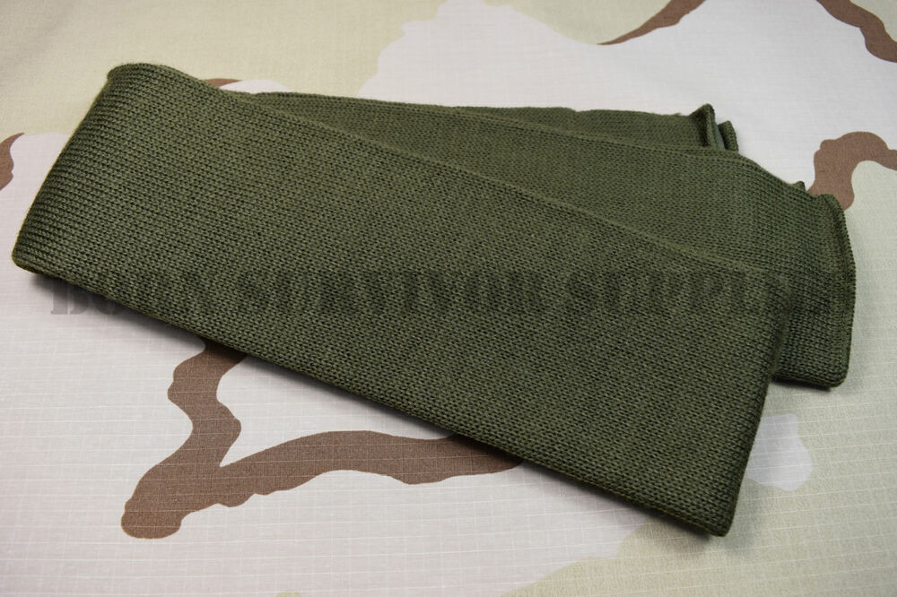 Details about NEW US ARMY SCARF 100% WOOL - Olive Green Neck Warmer Wrap USA  Military Surplus ed6f8840b1a