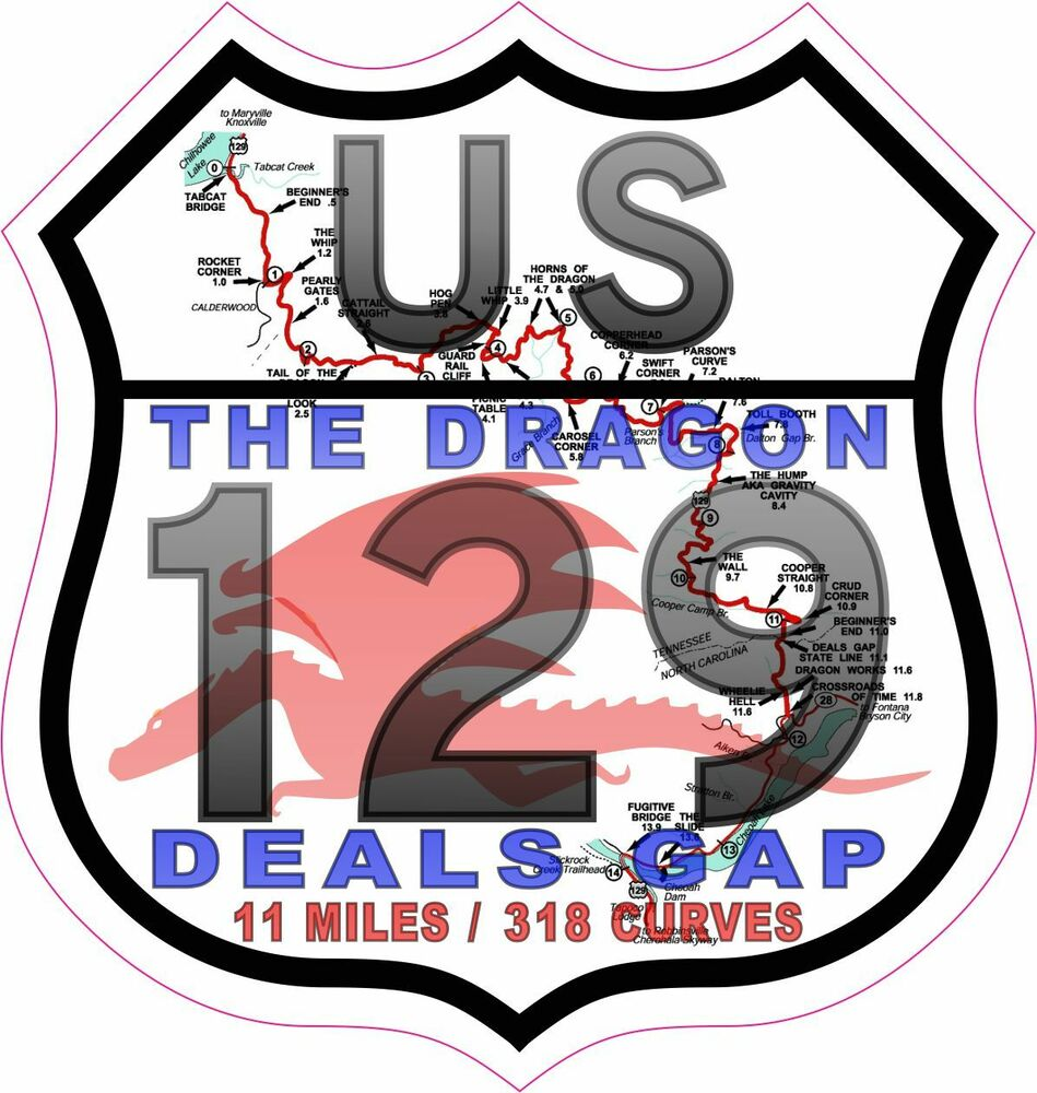 Deals gap stickers