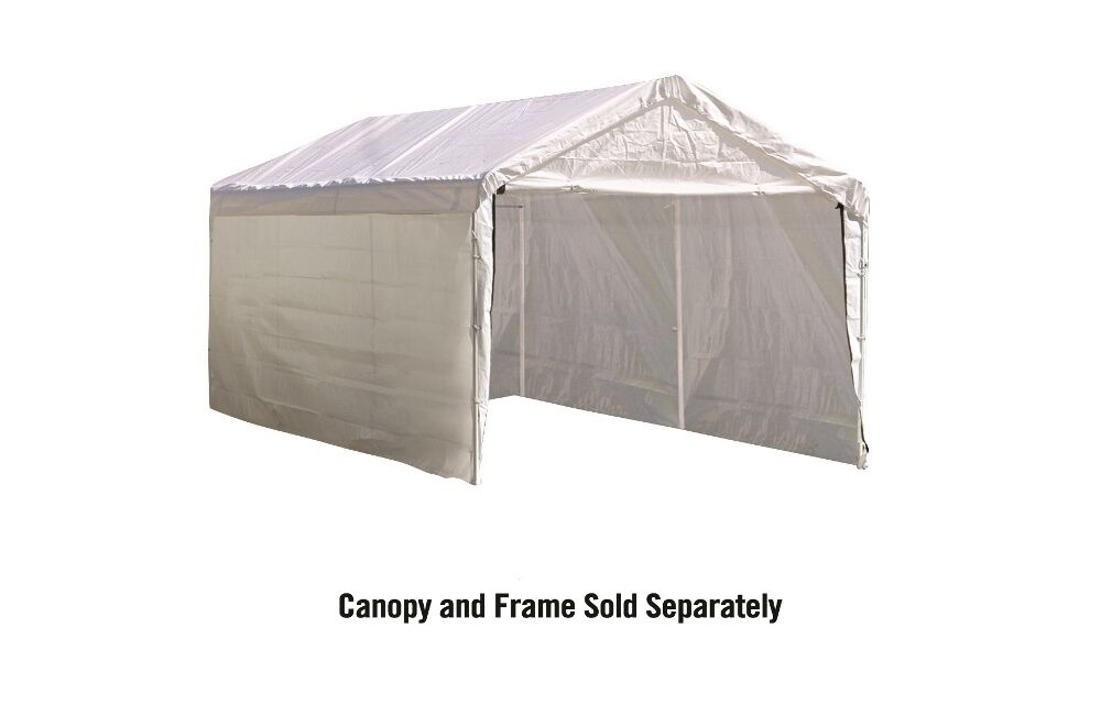 Shelterlogic 10x20 Canopy Replacement Cover : Shelterlogic super max ft white canopy