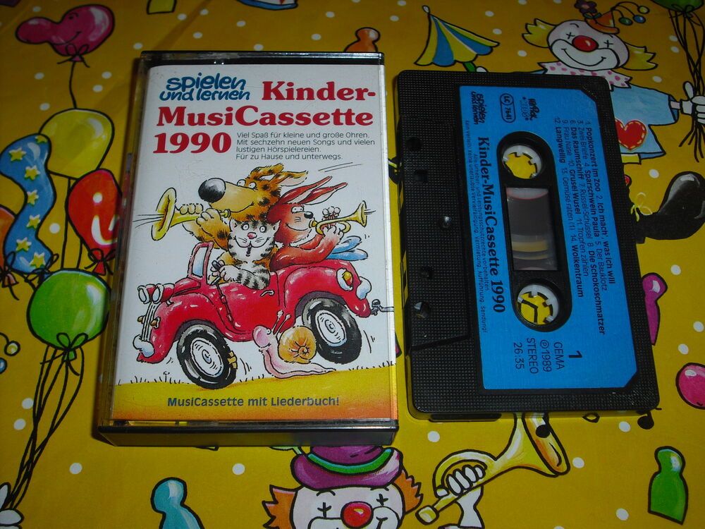 spielen und lernen mc velber musicassette 90 ohne liederbuch musik kassette 1990 ebay. Black Bedroom Furniture Sets. Home Design Ideas