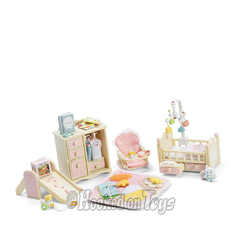 Calico Critters Baby 39 S Nursery Pink Bedroom Furniture Set Cc2269 Ebay