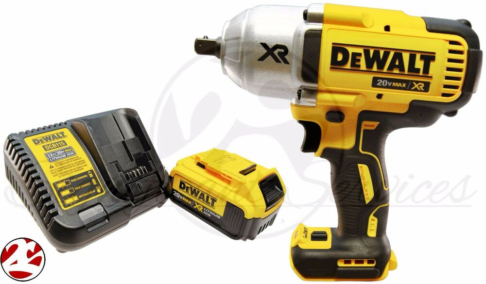 new dewalt dcf899p1 20v max cordless li ion 1 2 impact. Black Bedroom Furniture Sets. Home Design Ideas