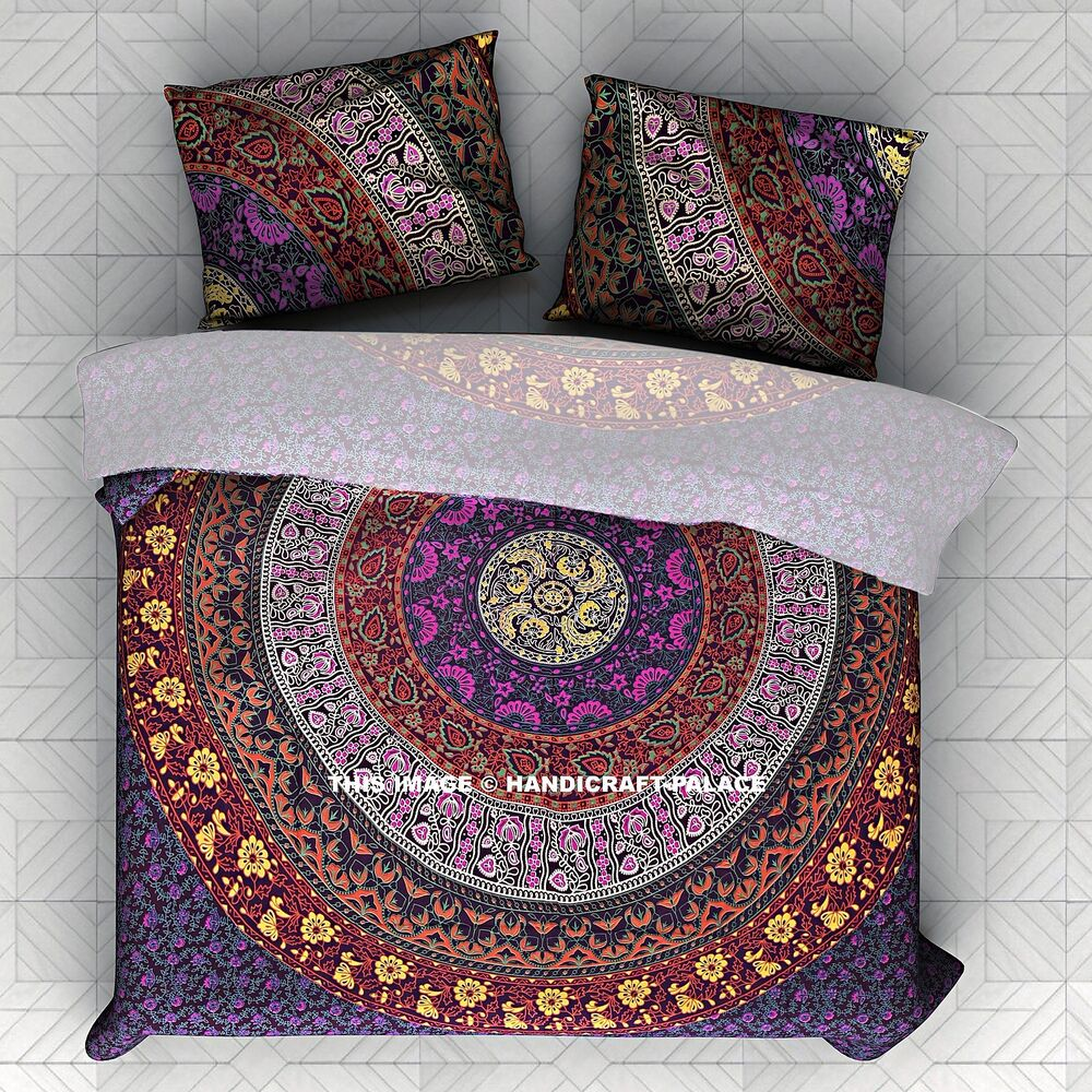 Indian Mandala Bedding Set Tapestry Hippie Bohemian ...