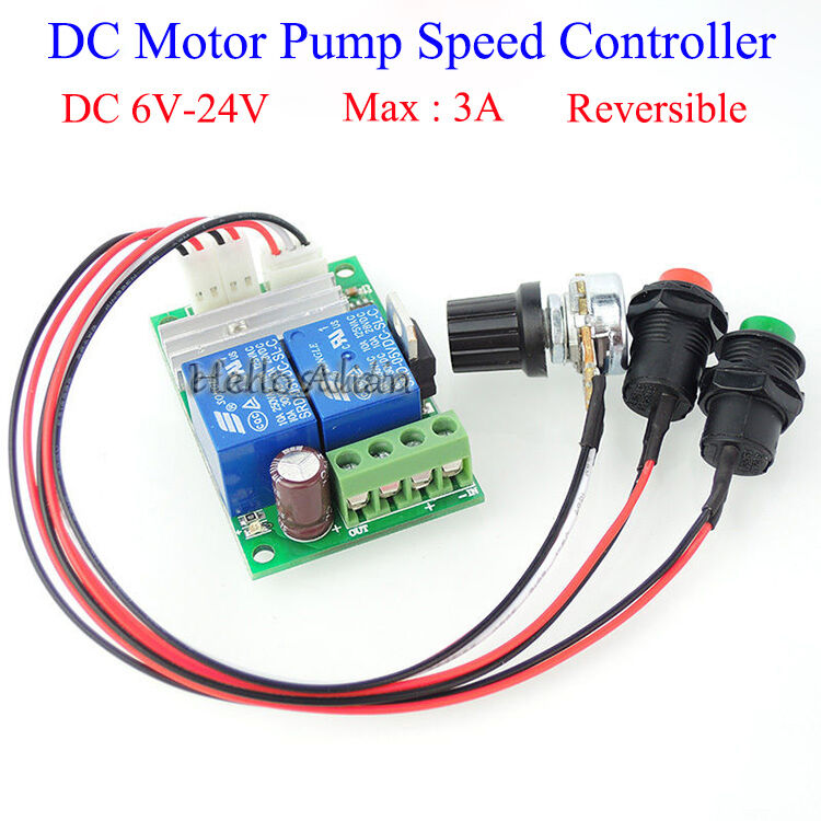 Dc 6v 9v 12v 24v 3a Dc Motor Speed Controller Forward