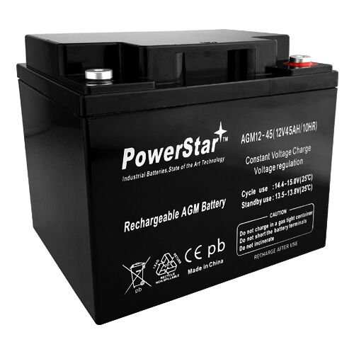 12v 45ah agm deep cycle battery ft 18 50lb thrust trolling