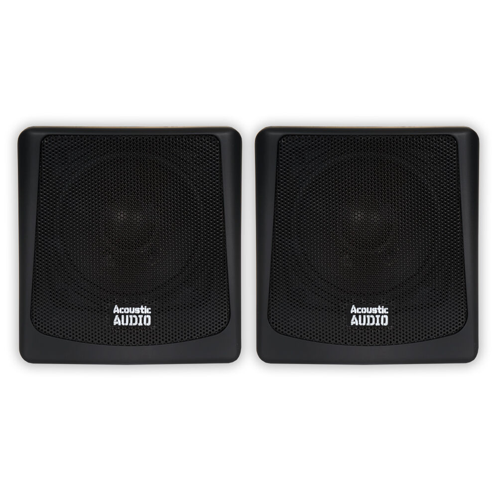 Acoustic Audio AA051B Mountable Indoor or Outdoor Speakers