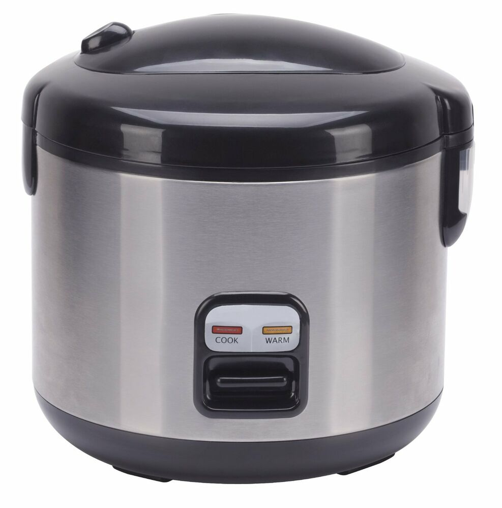 Sunpentown International 6-cups Rice Cooker With Stainless