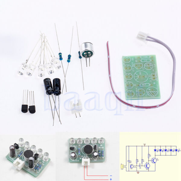 Kit électronique DIY - Sound Activated bleu haute luminosité LED clignotant HG