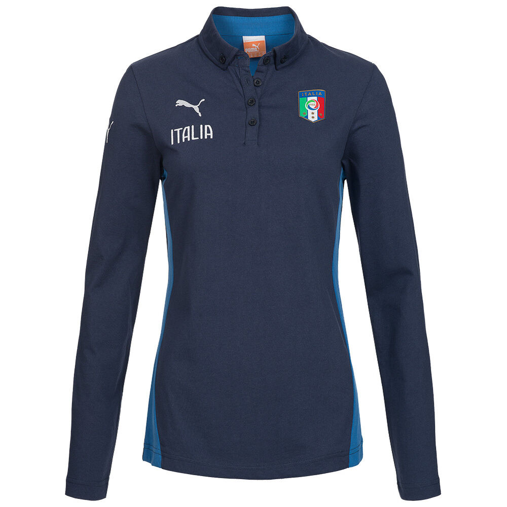 italien puma damen langarm polo shirt 744279 03 longsleeve poloshirt xs xl neu ebay. Black Bedroom Furniture Sets. Home Design Ideas