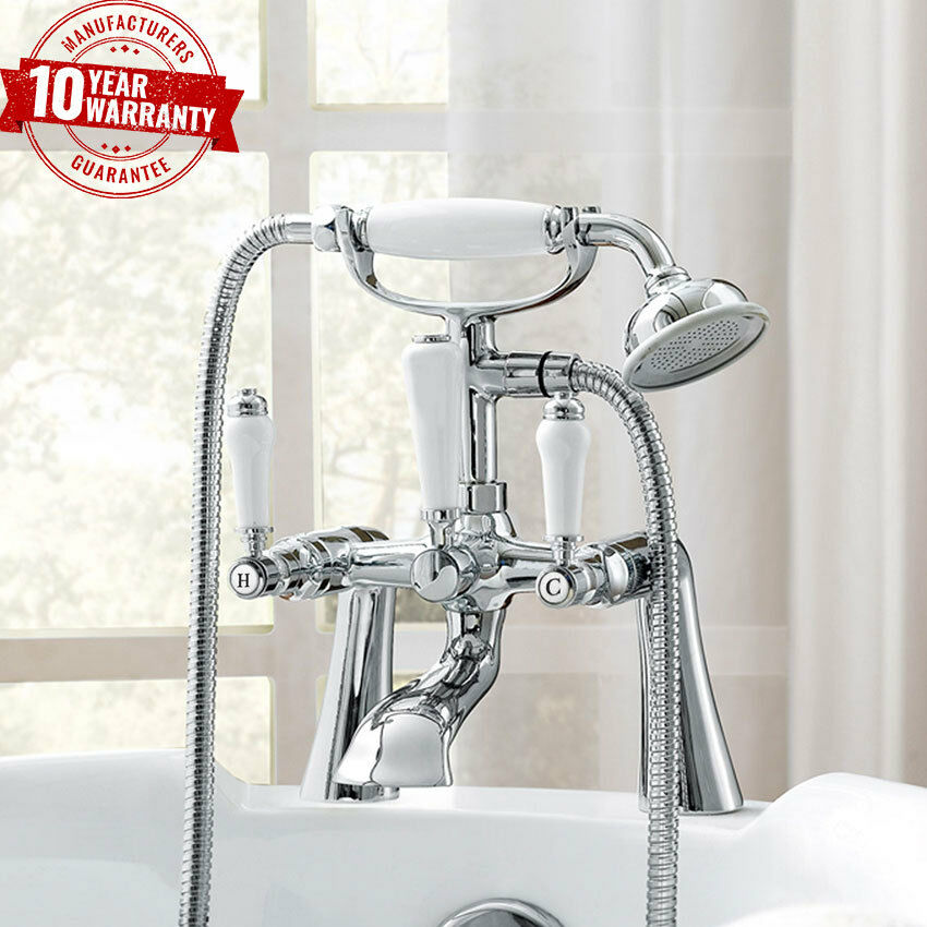 Traditional bathroom chrome bath shower mixer tap deck mounted wn ebay Traditional bathroom accessories chrome