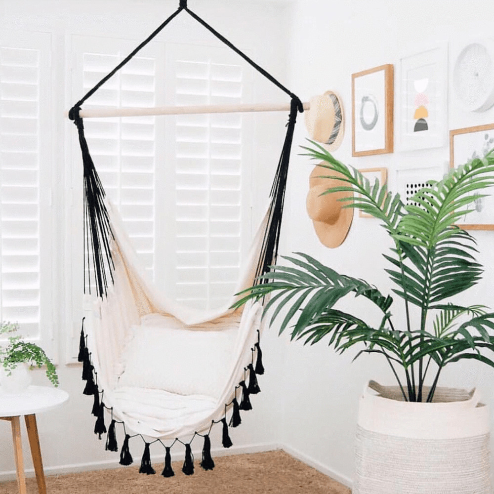 Deluxe Hanging HAMMOCK CHAIR Relax in Luxury Provincial ...