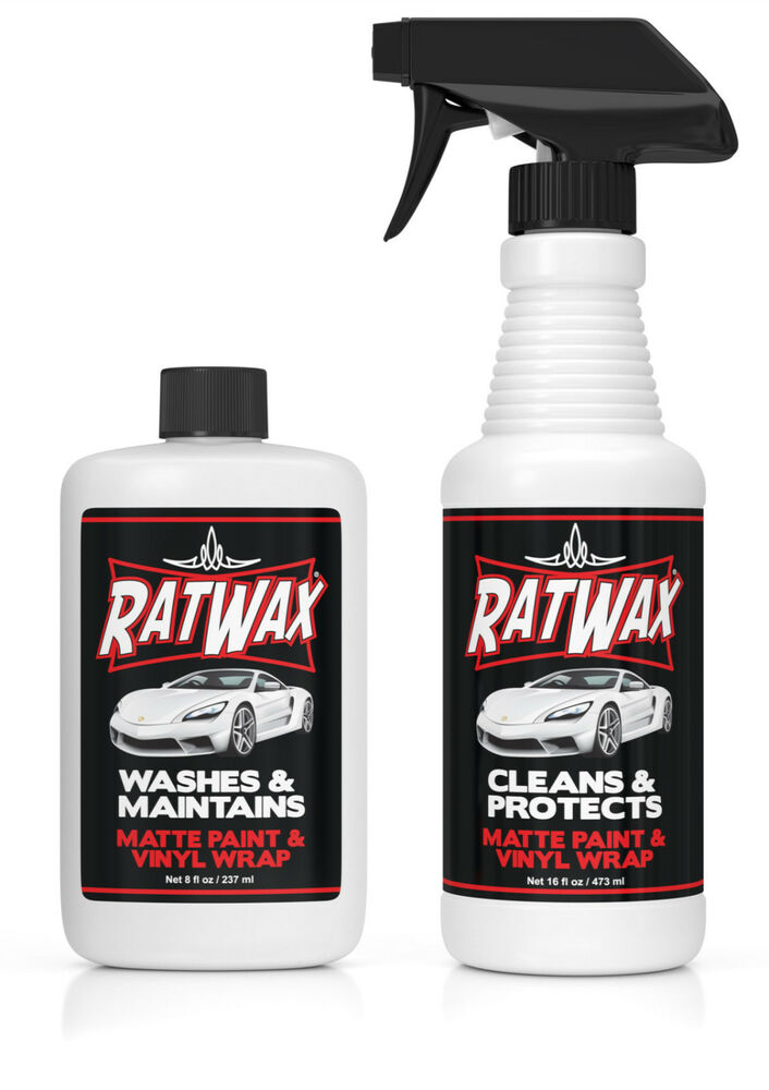 Rat Wax Matte Paint Car Soap Amp Detailer Vinyl Wrap