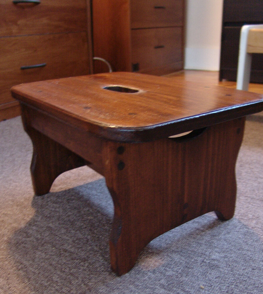Wood Foot Stool