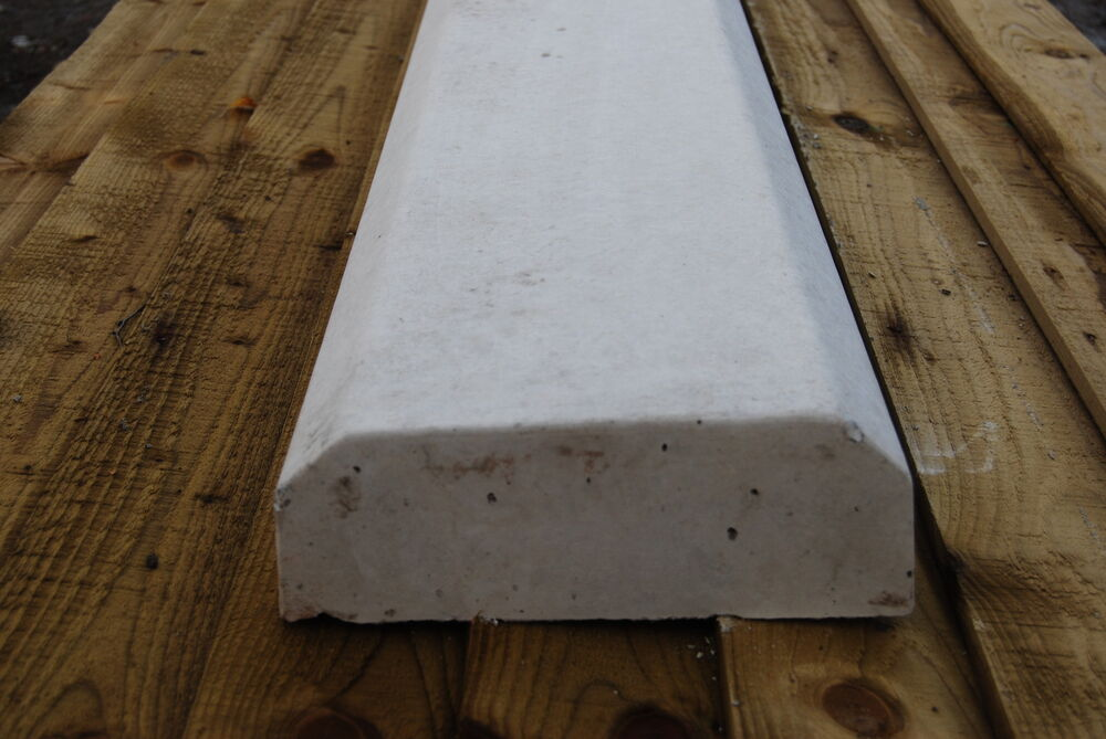 Chamfered Flat Top Concrete Coping Stone 60kg Ebay