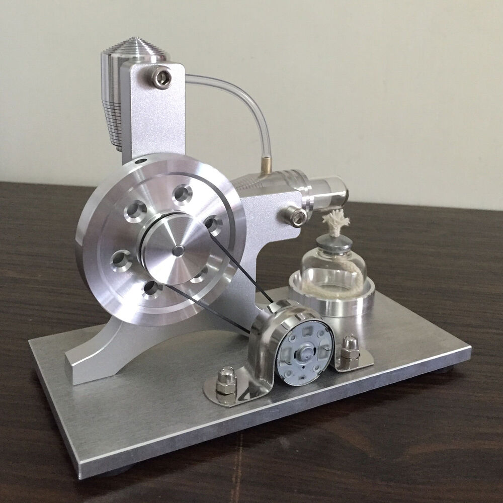 New Hot Air Stirling Engine Micro Motor Power Generator