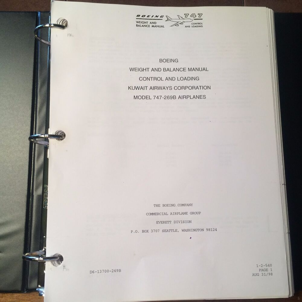 boeing 747 269b weight   balance control   loading manual 747 range 747 means yahoo