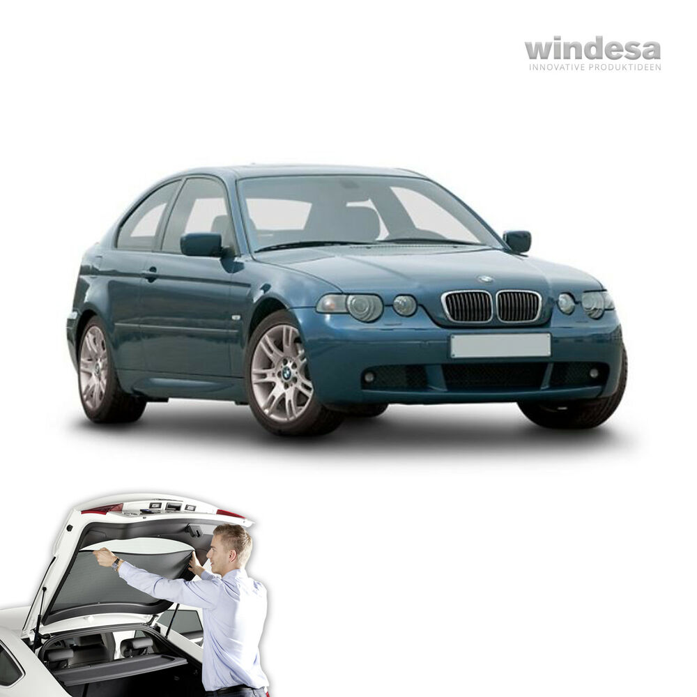 Bmw 3 series e46 touring car sun shade blind screen tint for Sun motor cars bmw