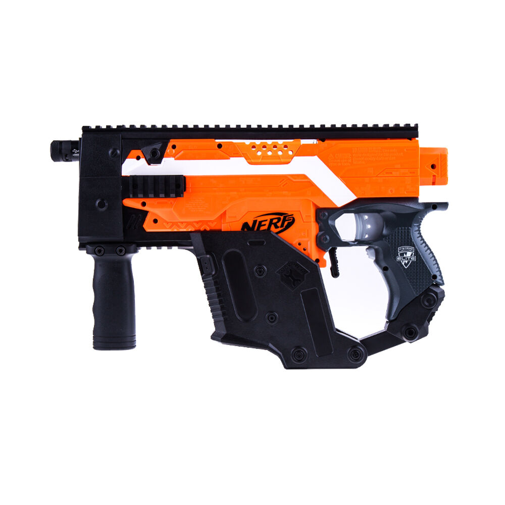worker mod kriss vector kit picatinny rail mount combo set for nerf stryfe toy