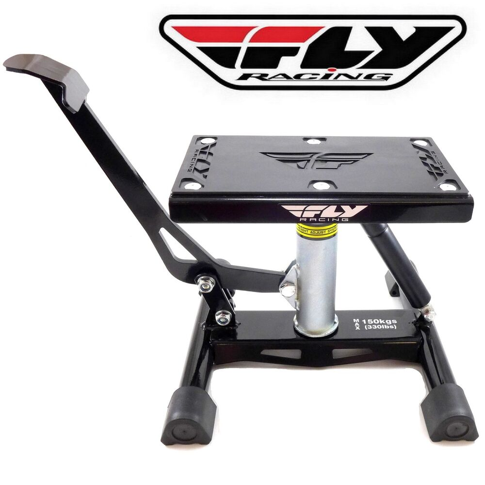 fly racing dirtbike lift jack stand motocross dirt bike. Black Bedroom Furniture Sets. Home Design Ideas
