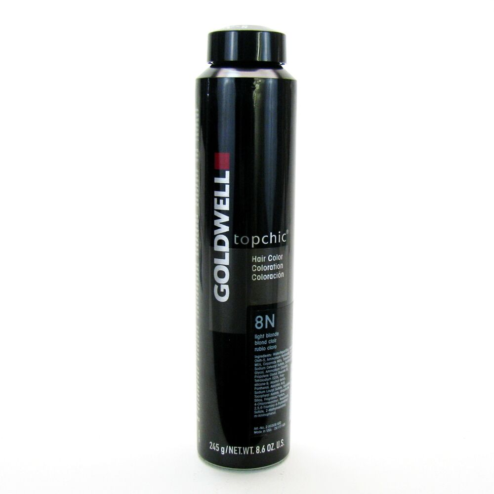 Goldwell Topchic 8 6 Oz Can Hair Color Level 8 Ebay