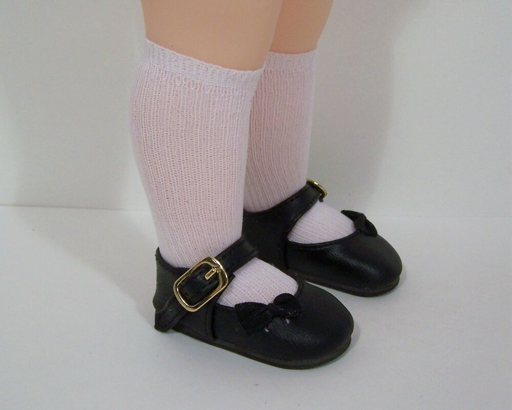 black sidebow doll shoes for 16 quot disney animators