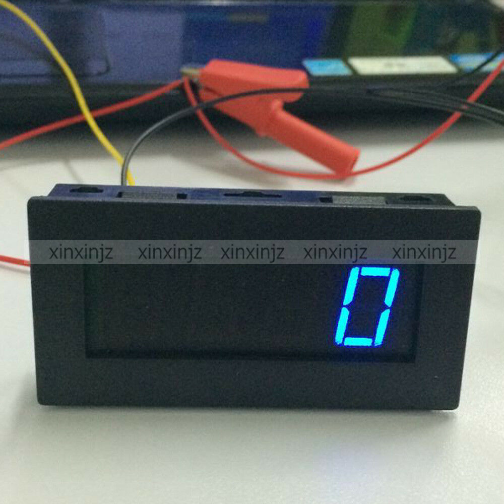 Black box digital motor led tachometer rpm speed measure for Tachometer for electric motor