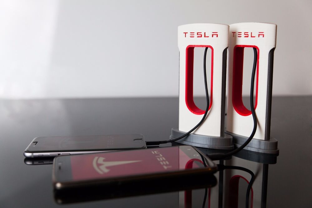 Upgraded Tesla Smartphone Supercharger Phone Charger