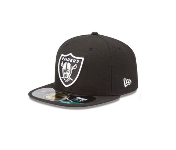 27d3008b4e2 Details about NEW ERA - 59FIFTY OFFICIAL ON FIELD CAP. OAKLAND RAIDERS. RRP  £30. FREE CAP BOX