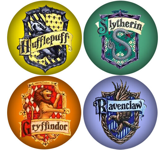 Luscious image pertaining to harry potter house badges printable