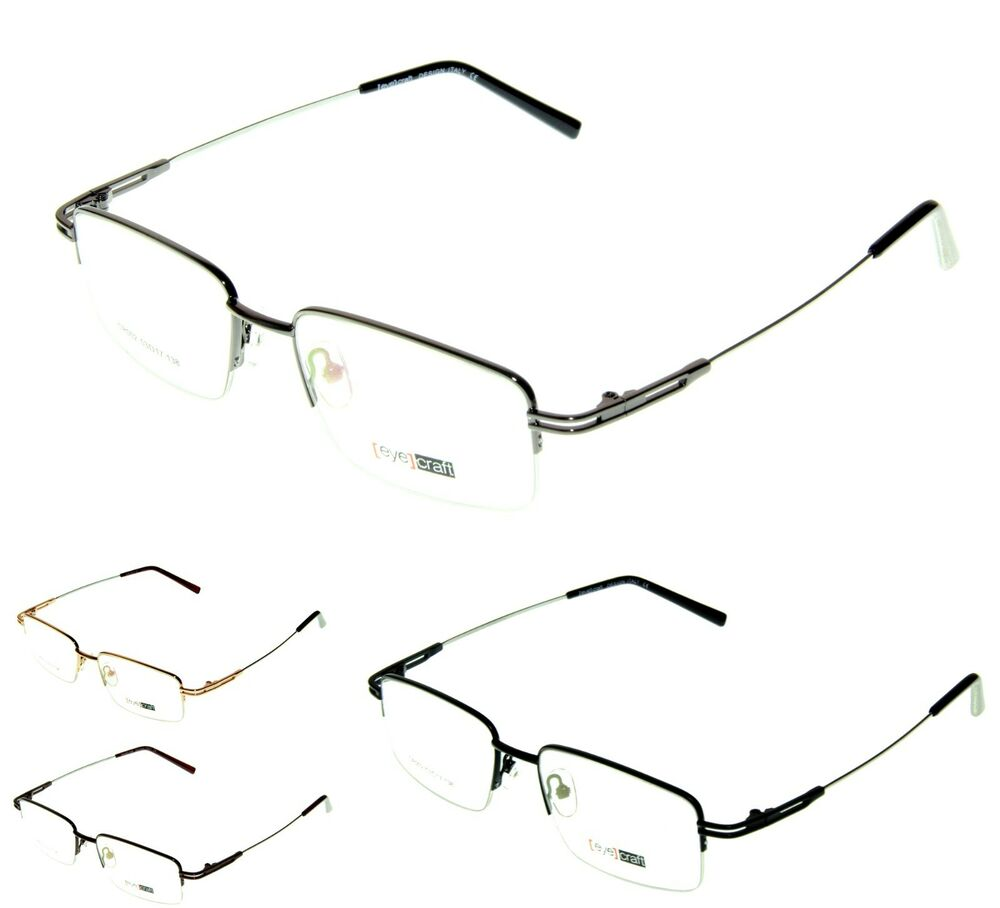 Rimless Transition Glasses : CR002 MEMORY Titanium Half Rimless Frames TRANSITIONS ...