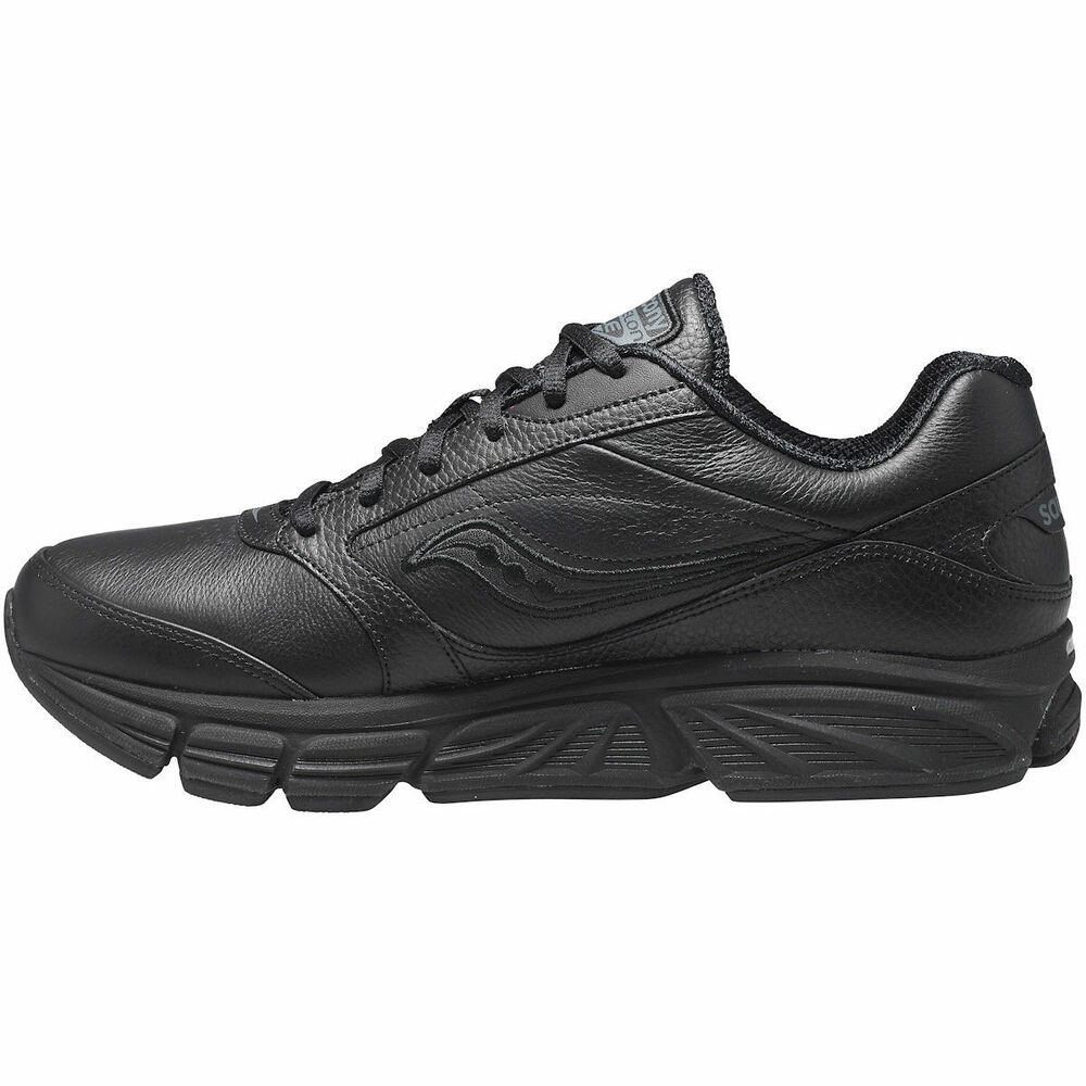 Men S Wide Leather Athletic Shoes