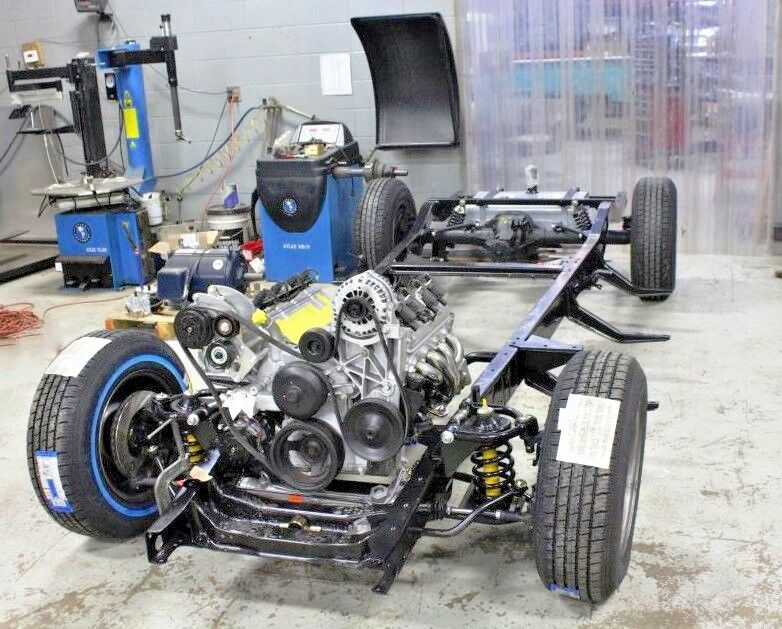 Chevy S10 Turbo Kit 4 3: 1947-54 Chevy 1/2 Ton Truck New Running/Rolling Chassis