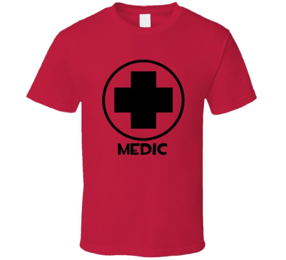 Team Fortress 2 Medic Red Team Video Game Fan T Shirt Ebay