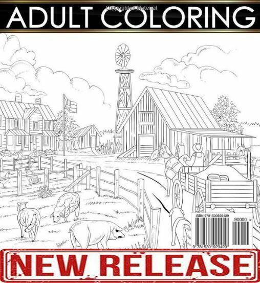 country farm coloring pages