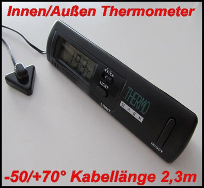innen au en thermometer kfz auto lkw boot haus b ro digital licht 50 70 c ebay. Black Bedroom Furniture Sets. Home Design Ideas