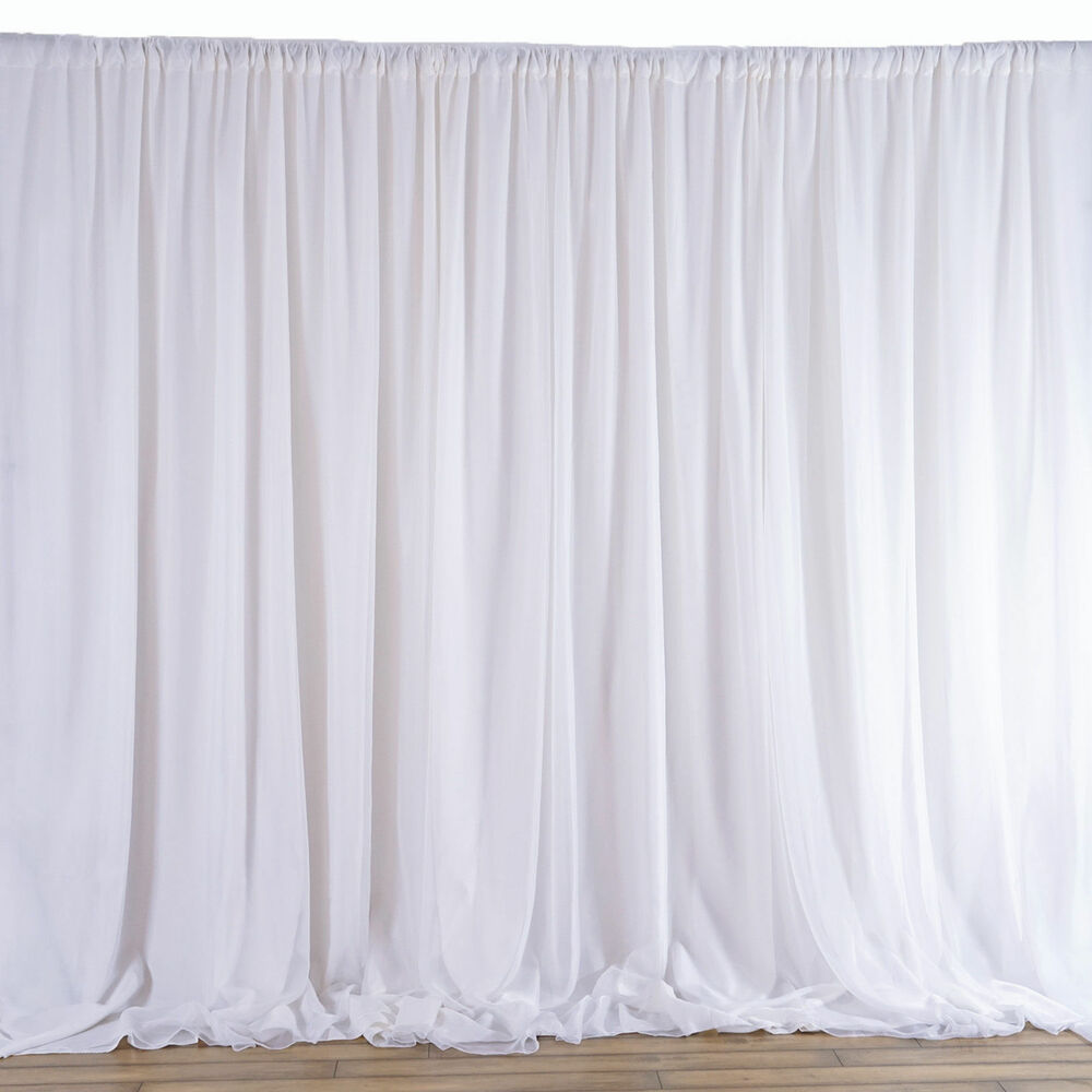 20FTx10FT Fabric BACKDROP Wedding Party Photobooth Curtain
