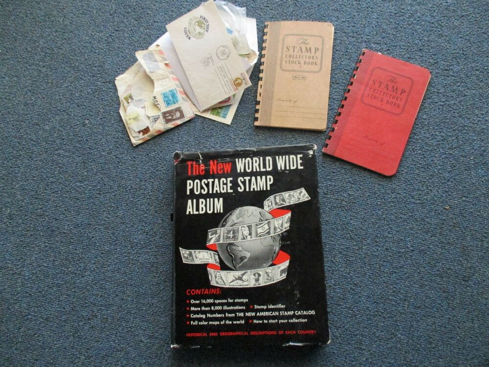 Collection of Vintage Stamps from U S  and Around the World   eBay