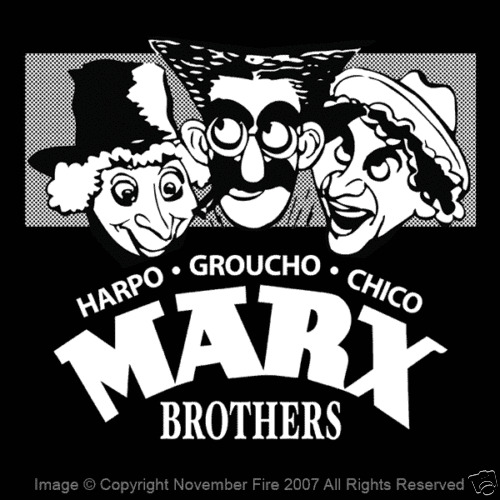 The Marx Brothers Quotes: The MARX Brothers Groucho Chico Harpo Duck Soup Night At