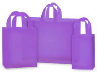 """""""LAVENDER"""" frosted shopping bags (100 ASSORTMENT)"""
