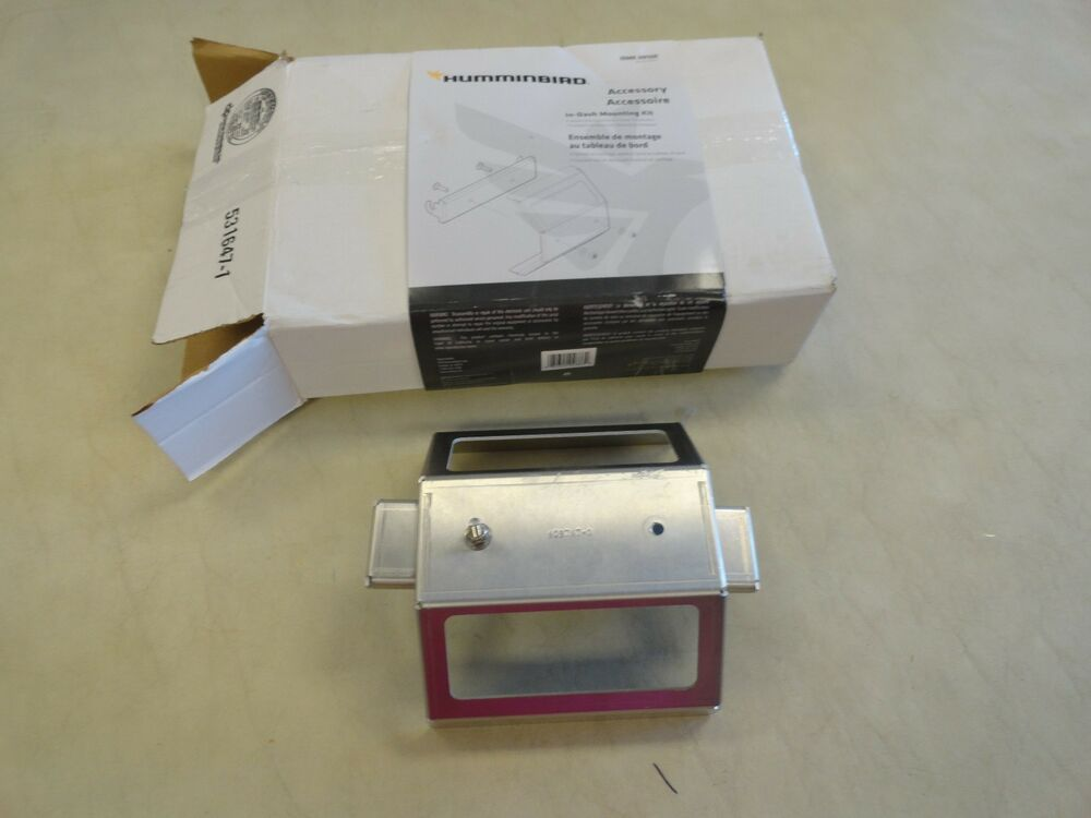 Humminbird in dash mounting kit idmk h910r 740155 1 for Used fish finders on ebay