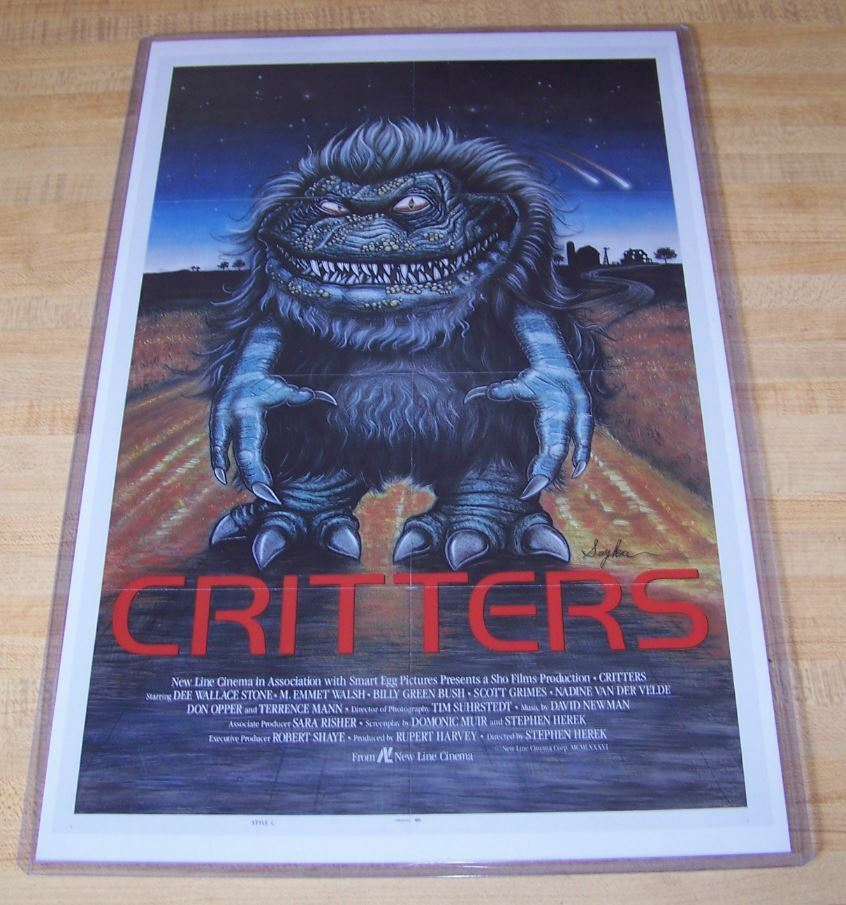 Critters 11X17 Original Movie Poster | eBay
