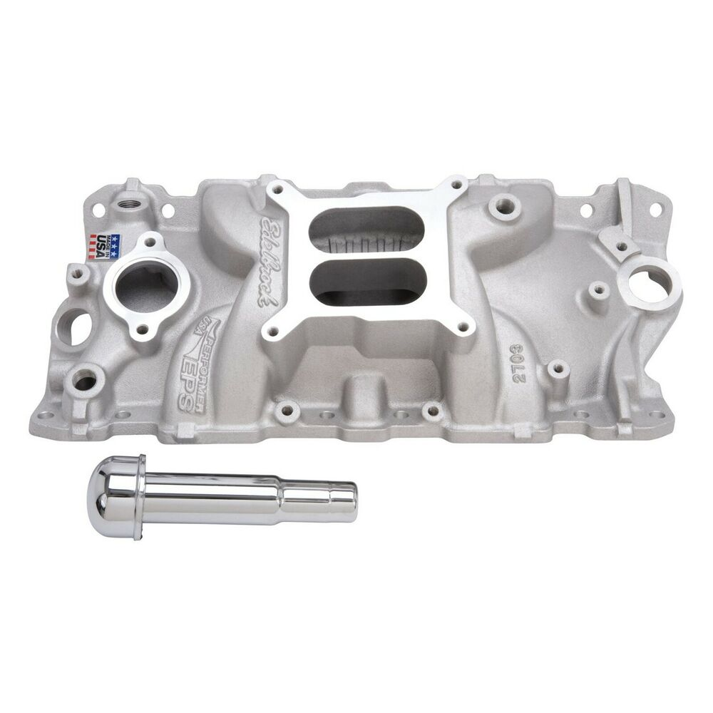 Edelbrock 2703 Intake Manifold Performer Eps With Oil Fill