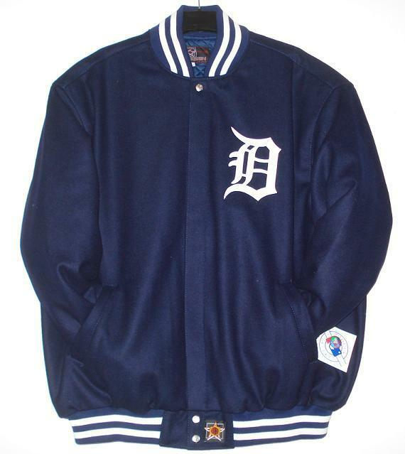 Detroit tigers leather jacket