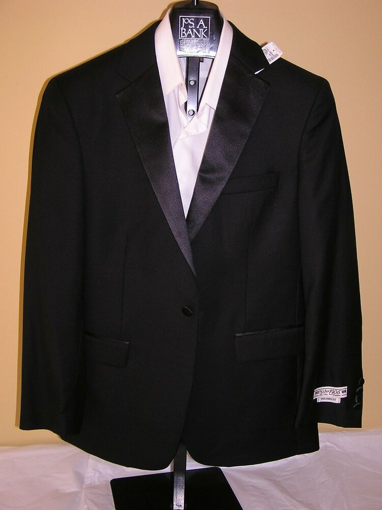 500 new jos a bank 1905 tailored fit tuxedo separate for Jos a bank slim fit vs tailored fit shirts