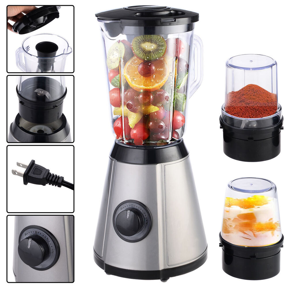 3in1 electric blender mixer chopper grinder multi function food fruit processor ebay. Black Bedroom Furniture Sets. Home Design Ideas