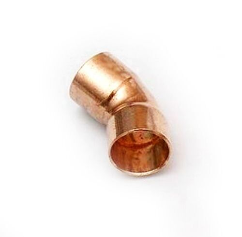 Quot inch ° degree elbow wrot copper dwv drain waste vent