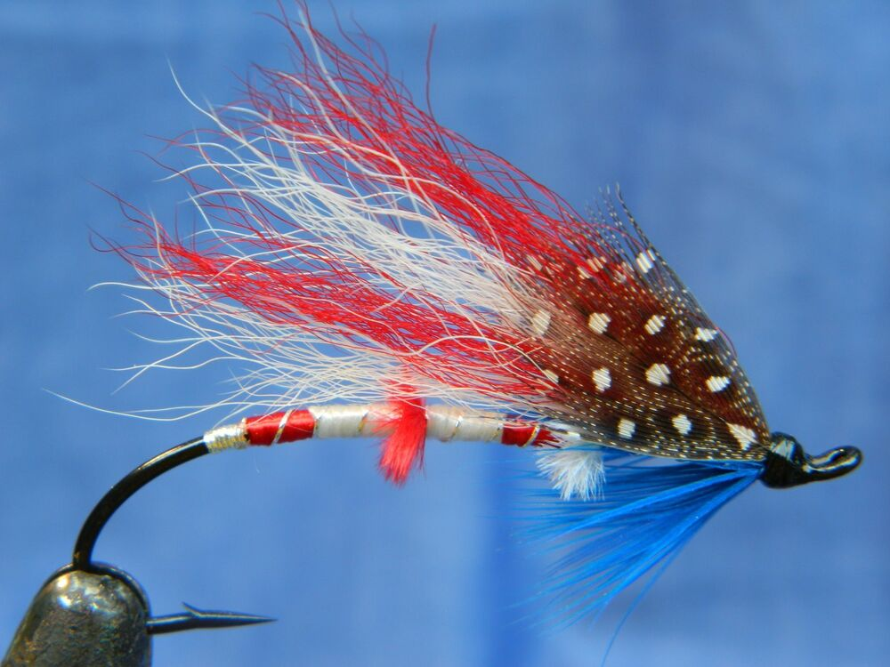 Fly fishing america usa pattern 4 july special patriotic for Fly fish usa